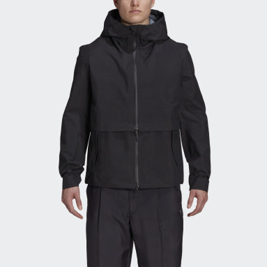 Men Y-3 Black Y-3 CH1 GORE-TEX Jacket