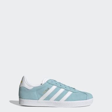 Youth 8-16 Years Originals Blue Gazelle Shoes