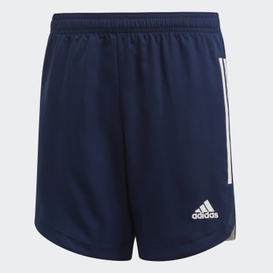 Short Condivo 20 Bleu Enfants Fitness Et Training