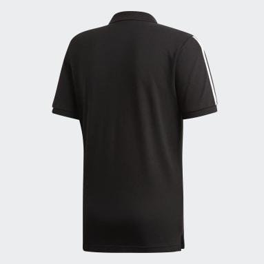 черный Футболка-поло 3-STRIPES