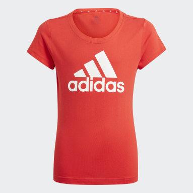 Girls Sportswear Red adidas Essentials Tee