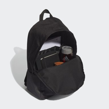 Lifestyle Black Classic Badge of Sport 3-Stripes Backpack
