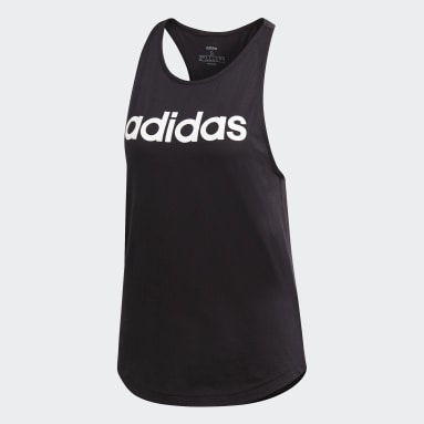 Camiseta Sin Mangas Essentials Linear Negro Mujer Sportswear
