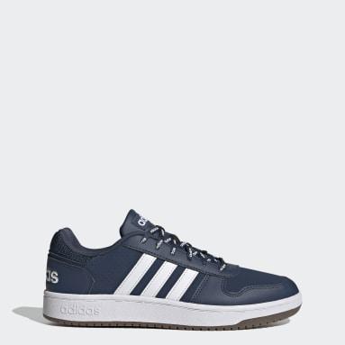 Erkek Sport Inspired Mavi Hoops 2.0 Ayakkabı