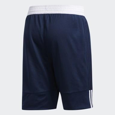 Men Basketball Blue 3G Speed Reversible Shorts