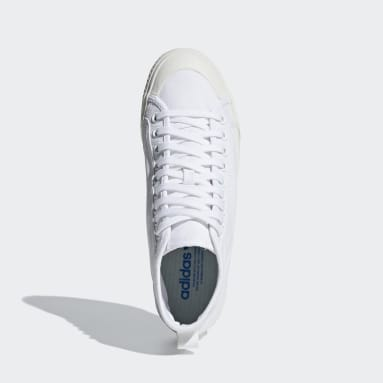 Originals White Nizza High Top Shoes