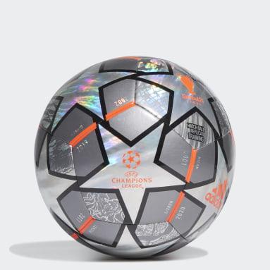 Ballon d'entraînement Finale 21 20th Anniversary UCL Hologram Foil gris Hommes Soccer