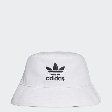 Originals สีขาว หมวกปีกรอบ Trefoil