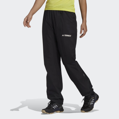 Women TERREX Black Terrex Multi RAIN.RDY Primegreen 2-Layer Rain Tracksuit Bottoms