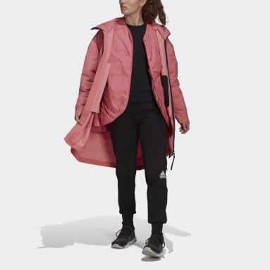 Women's Hiking Pink MYSHELTER 4IN1 Parka