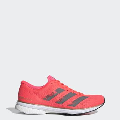 Women Running Pink Adizero Adios 5 Shoes