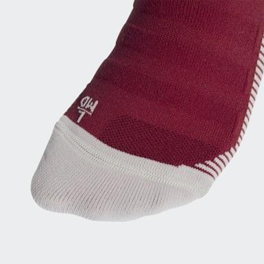 Futbal Burgundy Ponožky Arsenal Home
