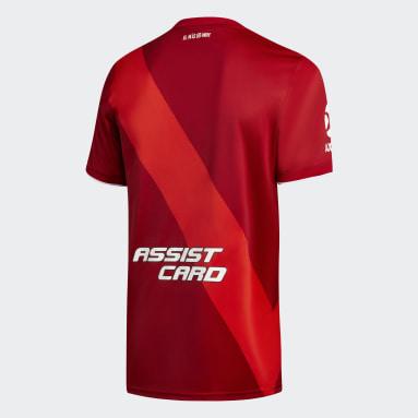 Camiseta Visitante River Plate 20/21 Rojo Niño Fútbol