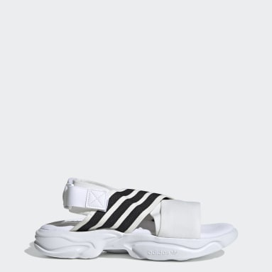 Women's Originals White Magmur Sandals