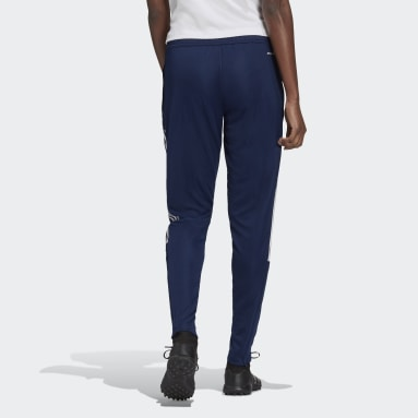 Women Football Blue Tiro 21 Track Pants