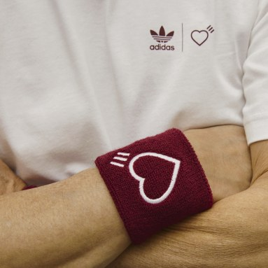 Originals Burgundy Human Made Wristbands and Headband