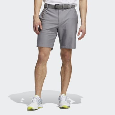 Men Golf Grey Ultimate365 3-Stripes Shorts