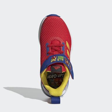 Chaussure FortaRun Super Hero Rouge Enfants Running