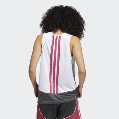 Dames Basketbal Wit 365 Women in Power Tanktop