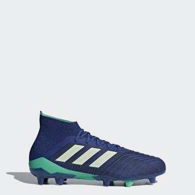 Calzado Predator 18.1 Firm Ground Azul Hombre Fútbol