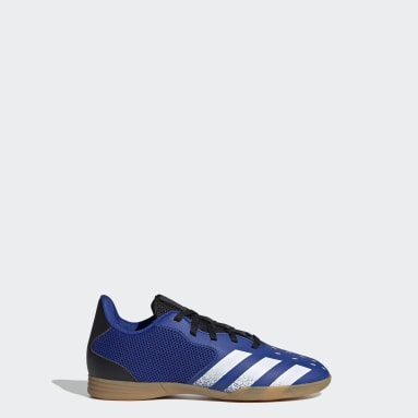 Children Soccer Blue Predator Freak.4 Sala Indoor Shoes
