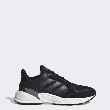 Women Running Black 90s Valasion Shoes