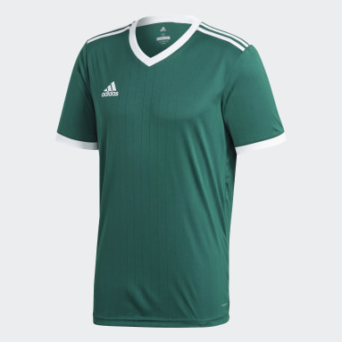 Camiseta Tabela 18 Verde Hombre Fútbol