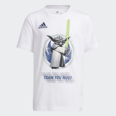 Boys Basket Vit Real Madrid Star Wars Yoda Graphic Tee