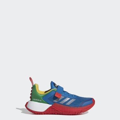Kids Running Blue adidas x Classic LEGO® Sport Shoes