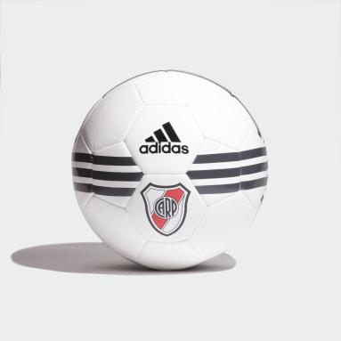 Pelota River Plate Blanco Hombre Fútbol