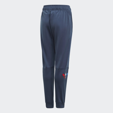 Kids Originals Blue Adicolor Track Pants