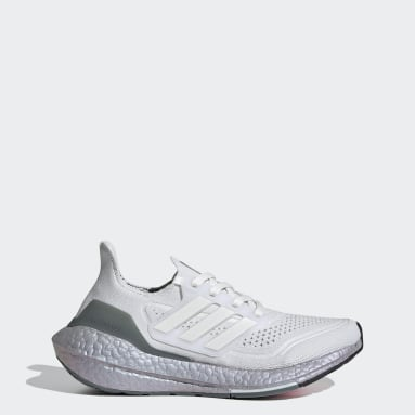 Youth Running White Ultraboost 21 Shoes