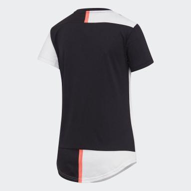 Women's Soccer Black Juventus Home Jersey