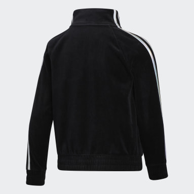 Youth Training Black VELOUR JACKET