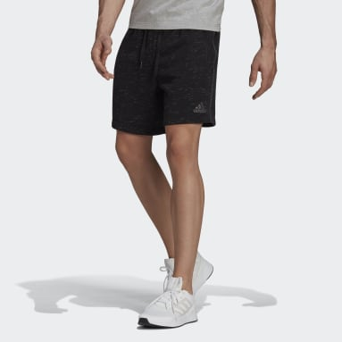 Short Essentials Mélange Nero Uomo Sportswear