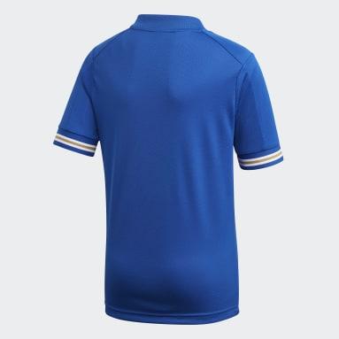 Børn Fodbold Blå Leicester City FC hjemmebanetrøje