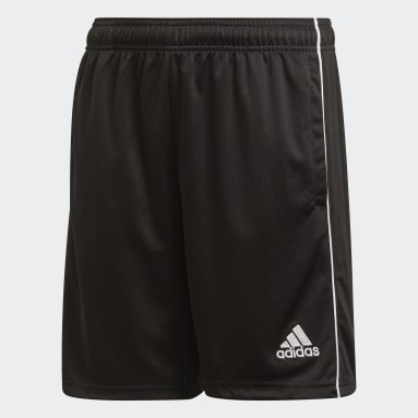 Kids Gym & Training Black Core 18 Training Shorts