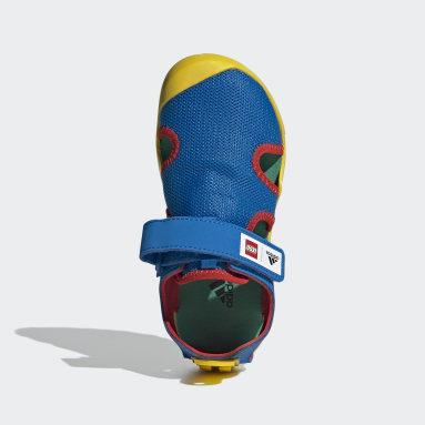 Kinder TERREX adidas x LEGO® Captain Toey Sandale Gelb