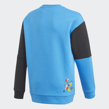 Kids Lifestyle Blue adidas x Classic LEGO® Bricks Sweatshirt