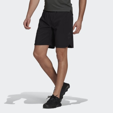 Men's Trail Running Black Agravic All-Around Parley Shorts