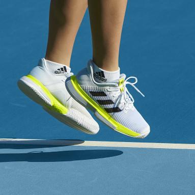 Women Tennis White SoleMatch Bounce Tennis Shoes