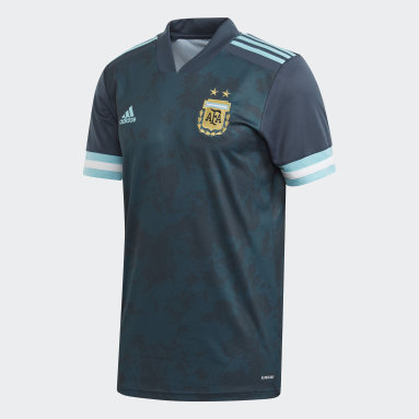 Kids Football Blue Argentina Away Jersey