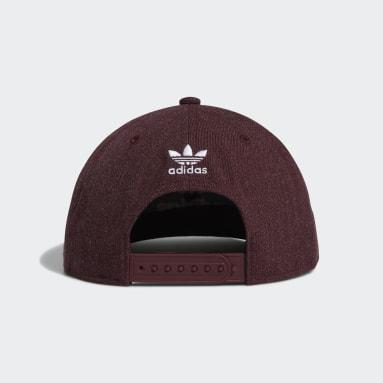 Men's Originals Red Trefoil Chain Snapback Hat