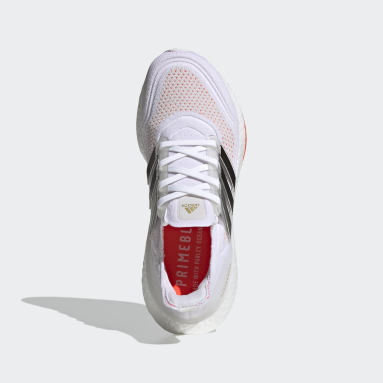 Women Running White Ultraboost 21 Tokyo Running Shoes
