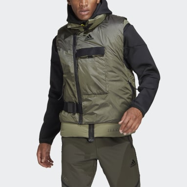 Men TERREX Green COLD.RDY Down Vest