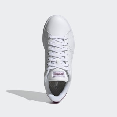 Women Sport Inspired White Advantage Shoes
