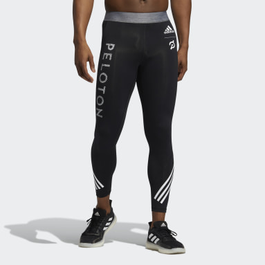 Men's Training Black adidas x Peloton 7/8 Length HEAT.RDY Tights