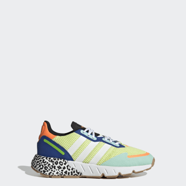 Youth Originals Yellow ZX 1K Boost Shoes