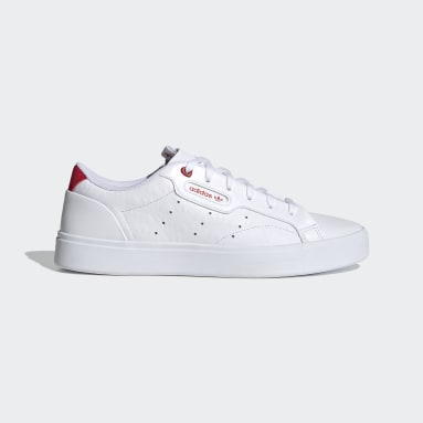 Women Originals White adidas Sleek Shoes