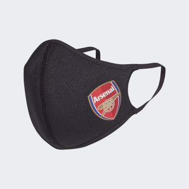 Životný Štýl čierna Rúška Arsenal Face 3-Pack  XS/S
